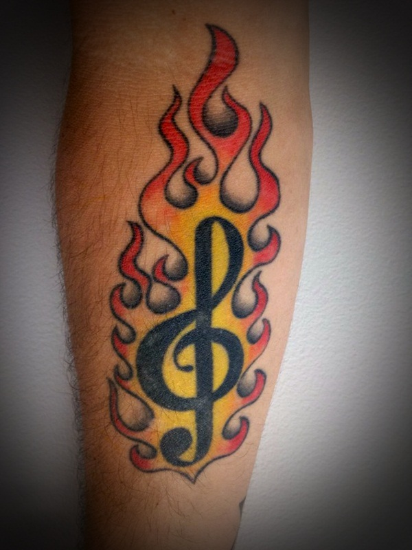 Music Tattoo Designs9