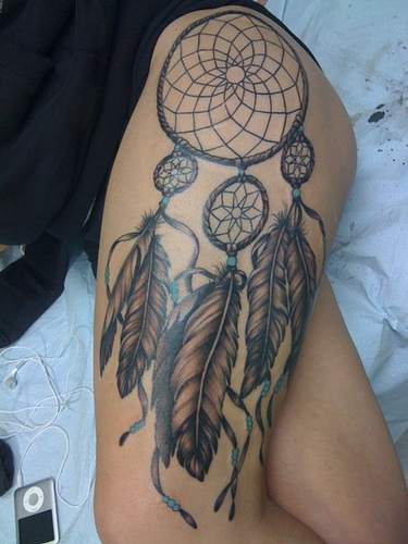 Sexy Dreamcatcher tattoos