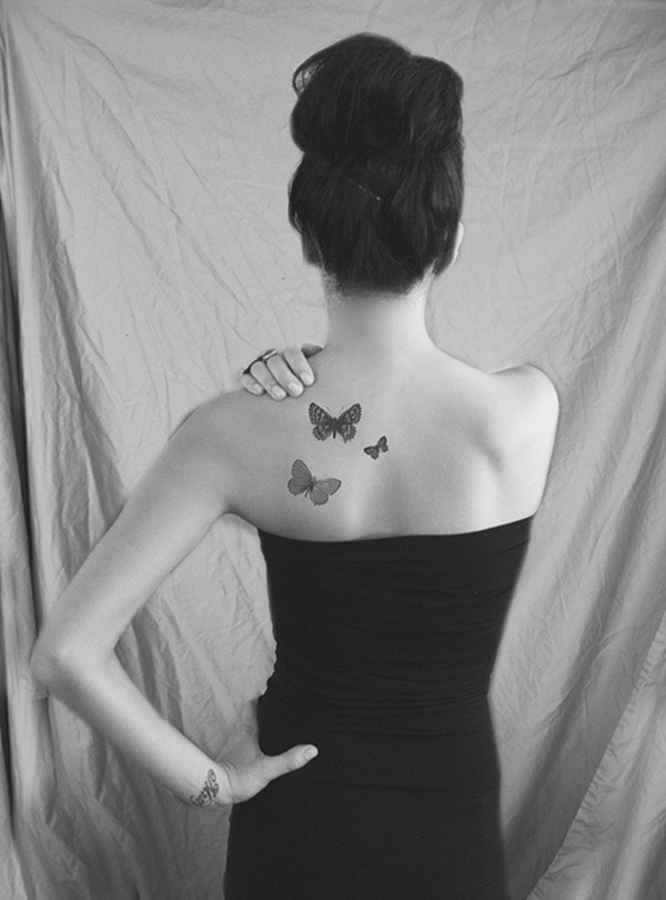 Unique Butterfly Tattoos for Women