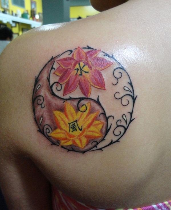 ying yang tattoos (7)