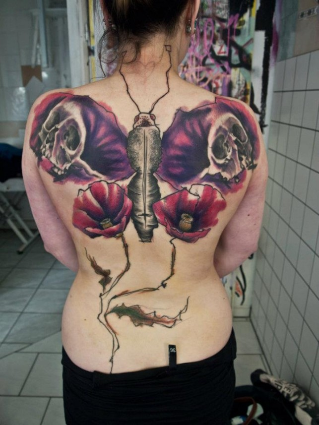 25 Best Butterfly Tattoo Designs For Girls
