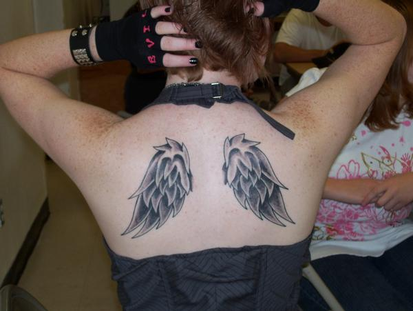 Beautiful Wing Tattoo