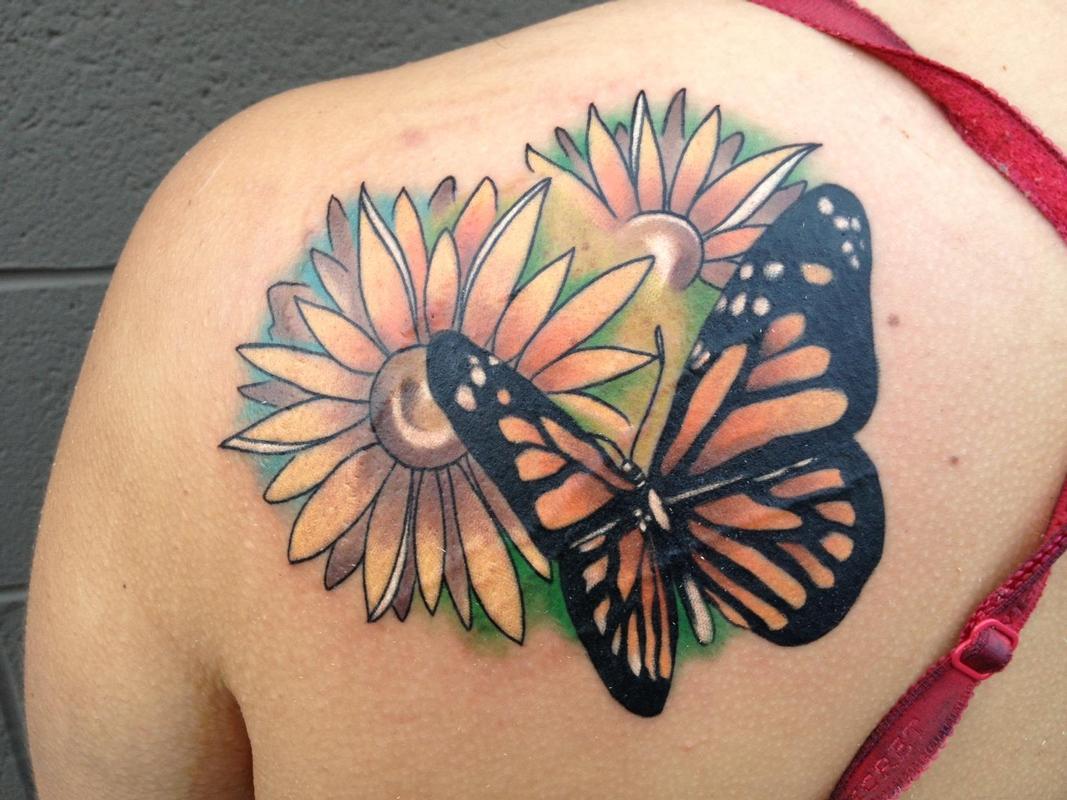 295a580c5659d 25 Best Butterfly Tattoo Designs for Girls