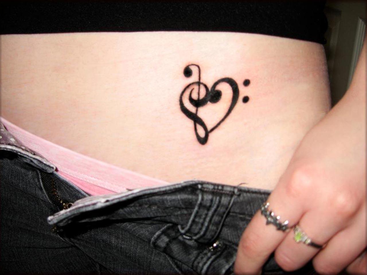 ladies tattoo design