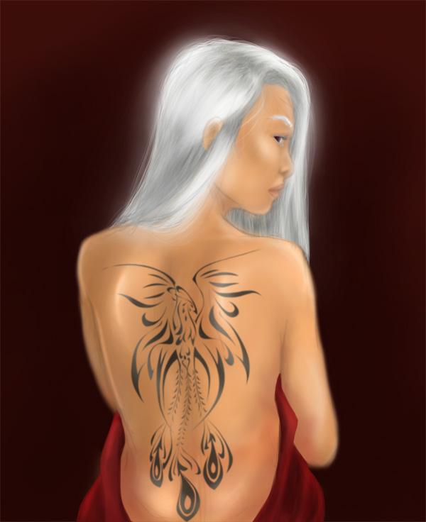 Mark of The Phoenix Tattoo