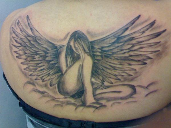 My Spirit Angel Tattoo