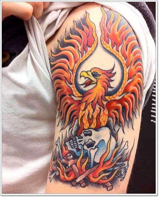 Phoenix tattoos for men2