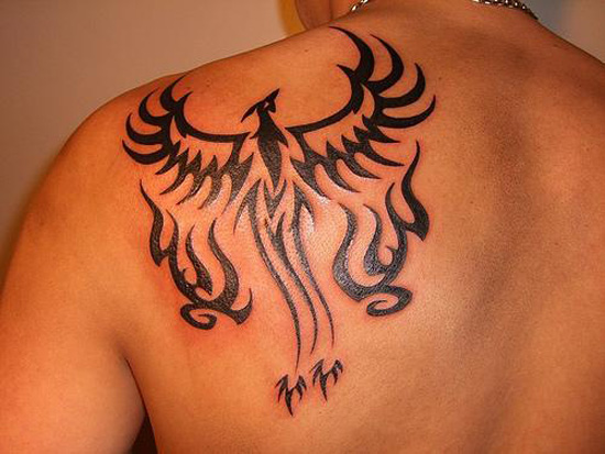 Phoenix tattoos for men3