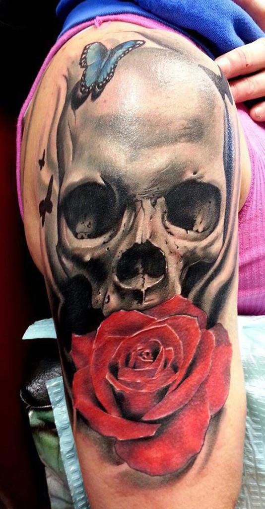 Skull Tattoo Designs for Men10