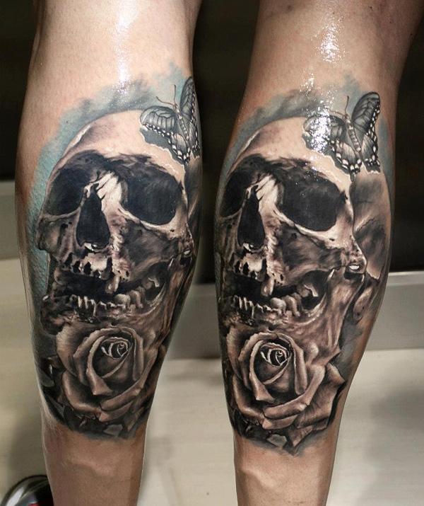 Skull Tattoo Designs for Men11