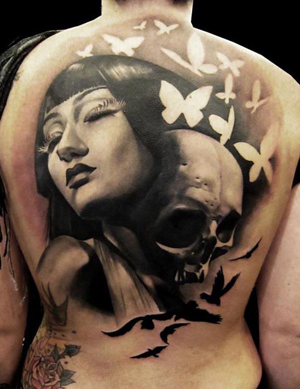 ... skull tattoos fo