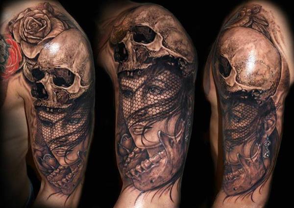 Skull Tattoo Designs for Men18