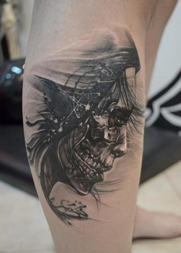 Skull Tattoo Designs for Men19