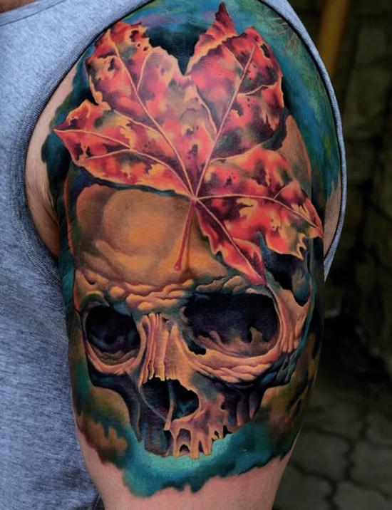 Skull Tattoo Designs for Men20
