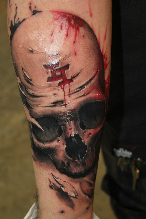 Skull Tattoo Designs for Men3