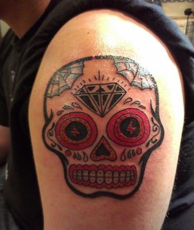 Skull Tattoo Designs for Men30