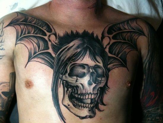 Skull Tattoo Designs for Men34