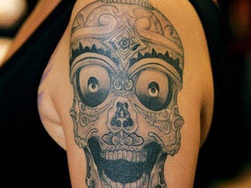 Skull Tattoo Designs for Men35