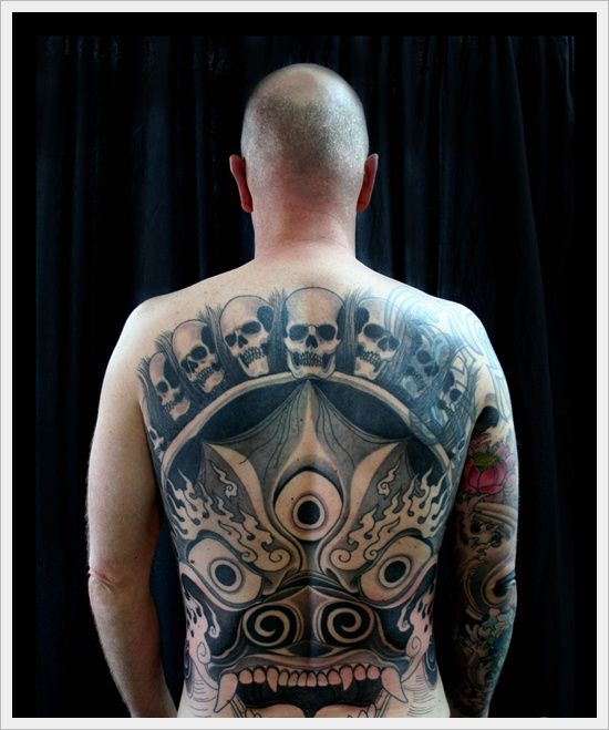 Skull Tattoo Designs for Men36