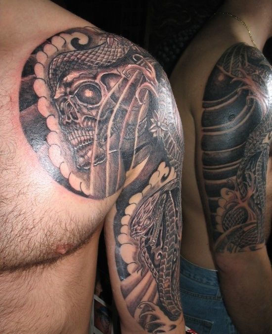 Skull Tattoo Designs for Men39