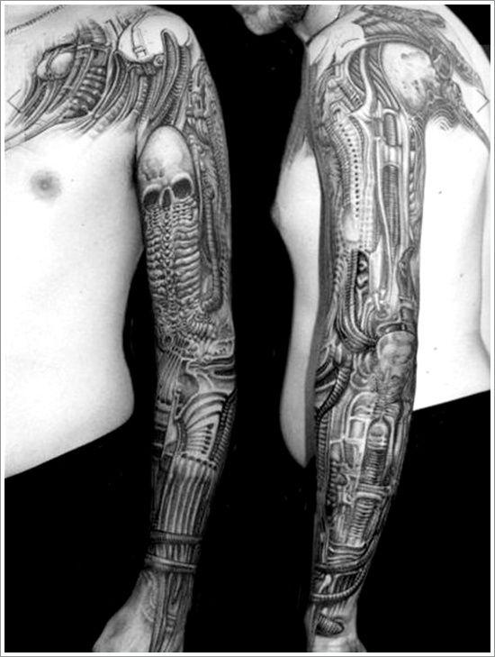 Skull Tattoo Designs for Men41