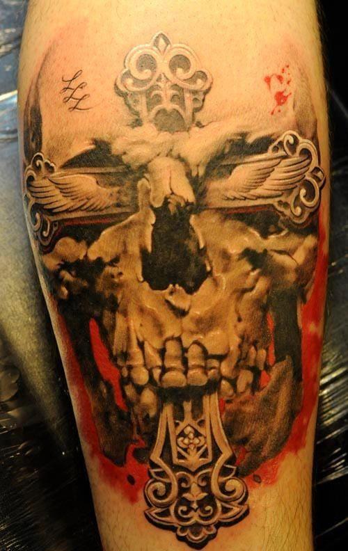 Skull Tattoo Designs for Men42