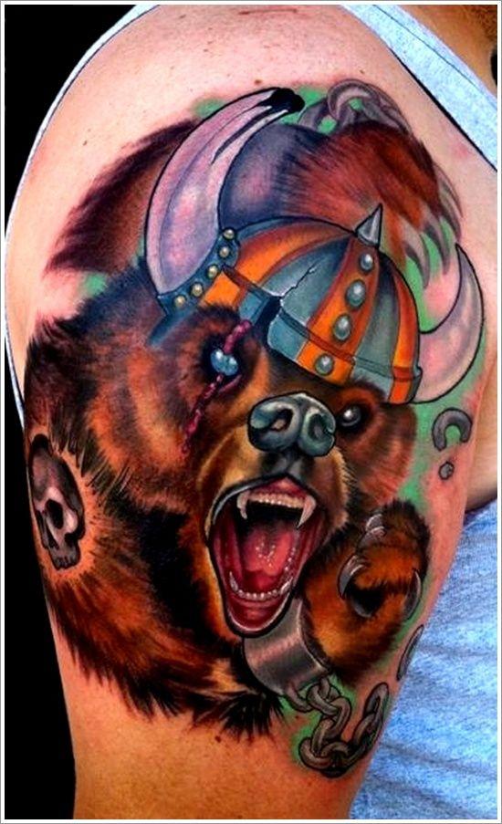 Skull Tattoo Designs for Men43