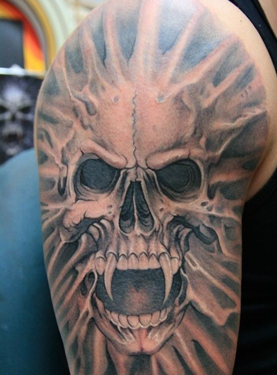 50 Skull Tattoo Designs For Men