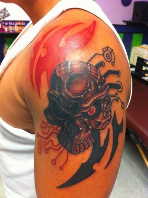 Skull Tattoo Designs for Men47
