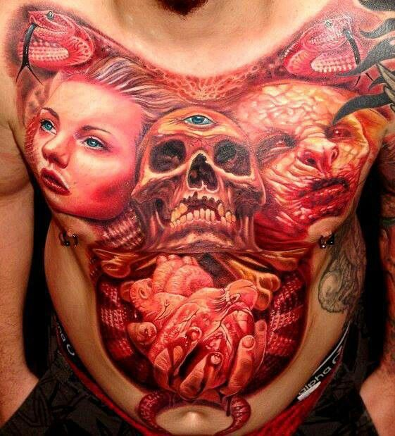 Skull Tattoo Designs for Men5