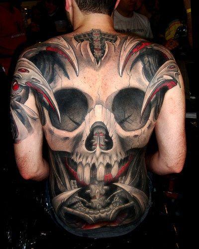 Skull Tattoo Designs for Men50