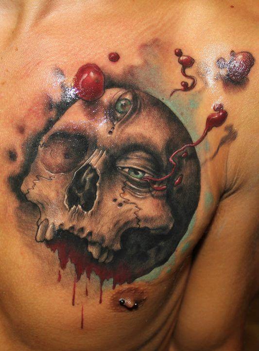 Skull Tattoo Designs for Men7