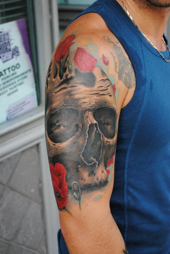Skull Tattoo Designs for Men9