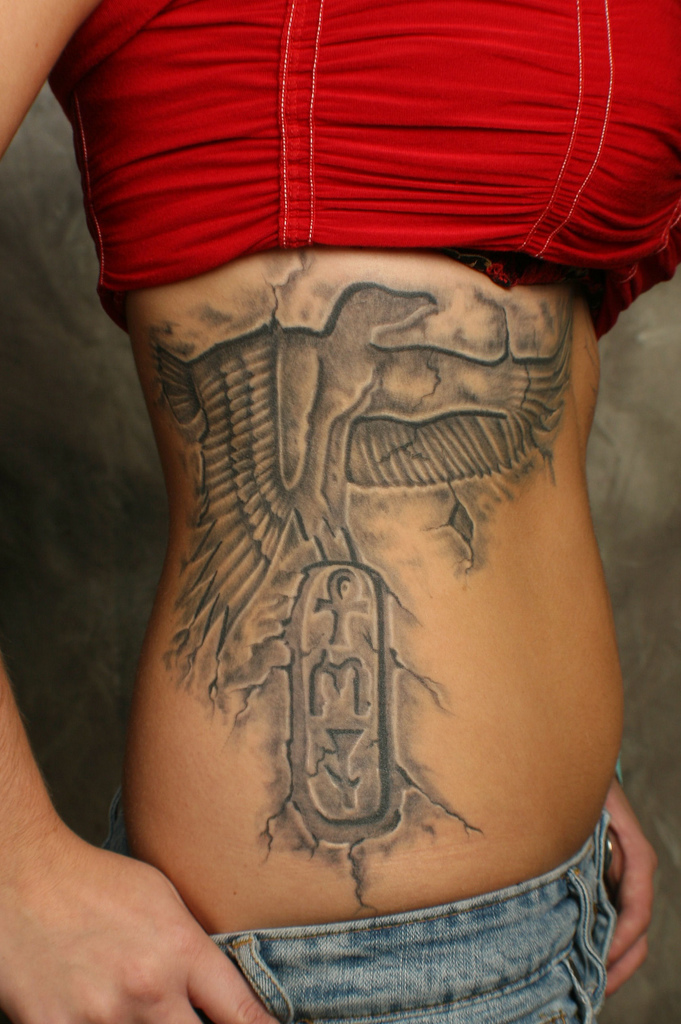 Women Egyptian Tattoo