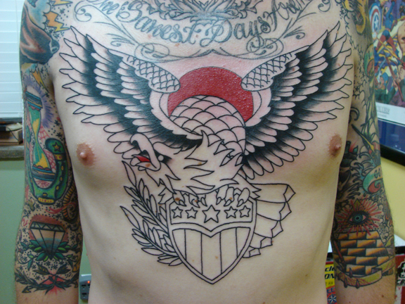 Superman Chest Drawing Superman Tattoo on Chest