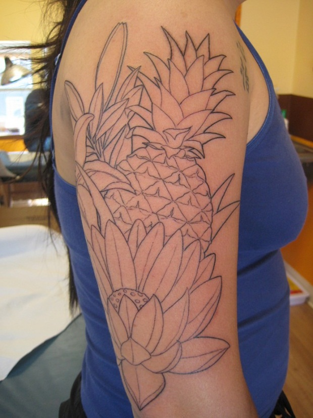 Flower Tattoo Designs for Women14