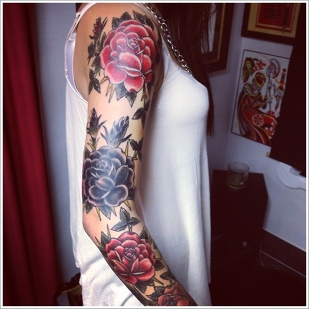 Flower Tattoo Designs for Women23