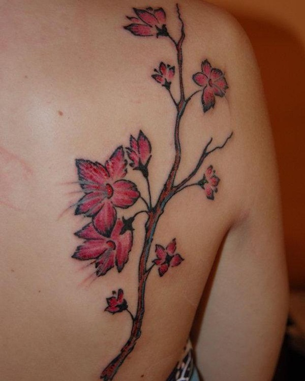 Flower Tattoo Designs for Women27