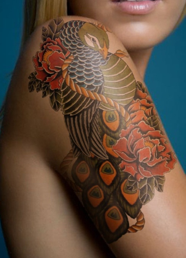 Flower Tattoo Designs for Women4