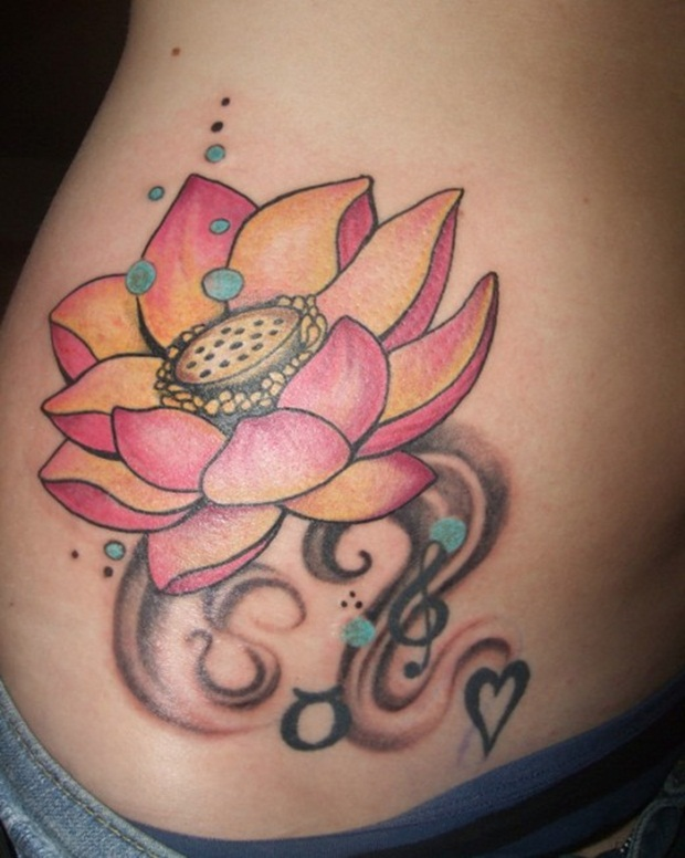 Flower Tattoo Designs for Women8