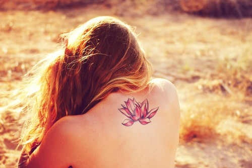Lotus Flower Tattoos32