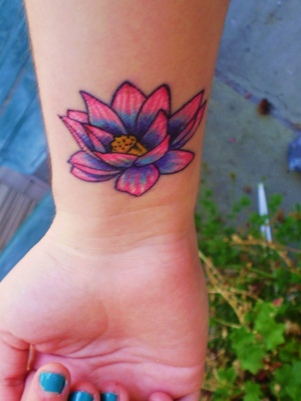 40 Beautiful Lotus Flower Tattoo Designs