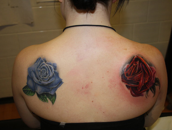 Rose Tattoo Designs for Girls24