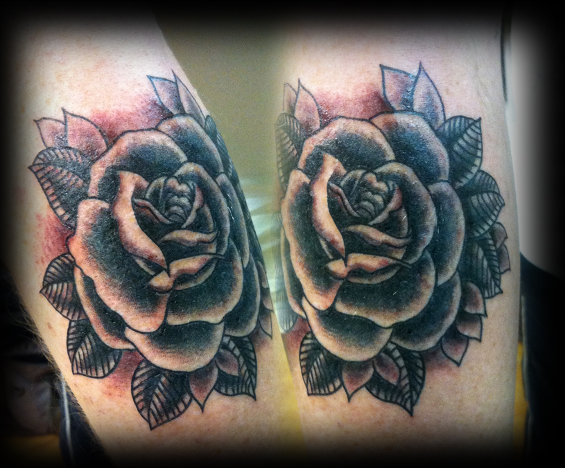 Rose Tattoo Designs for Girls3