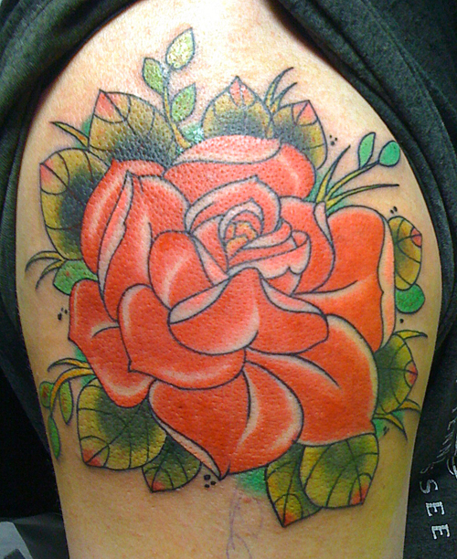 Rose Tattoo Designs for Girls5