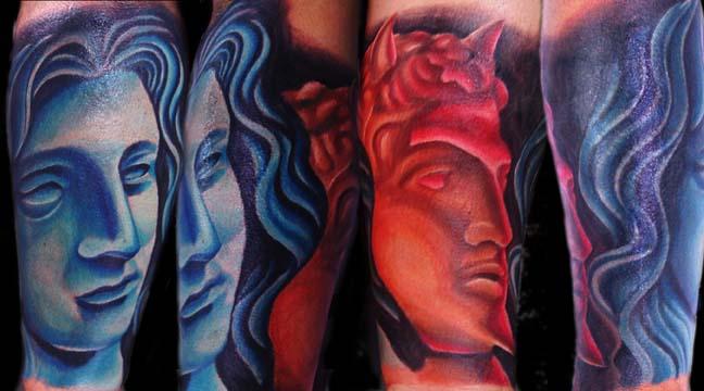 Blue Angel Red Devil