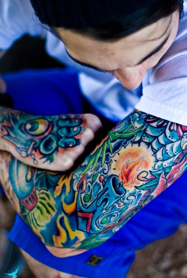 Color Tattoo Design11