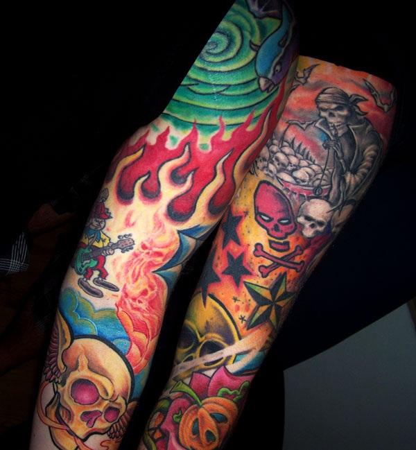 Color Tattoo Design15