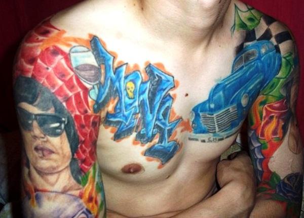 Color Tattoo Design3