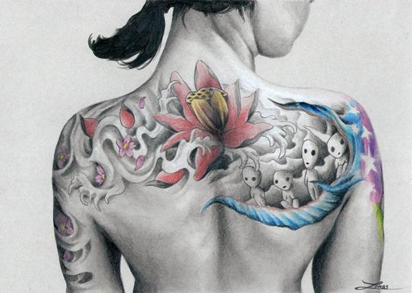 Color Tattoo Design8